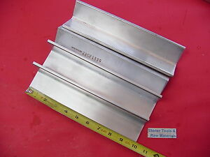 4 Pieces 2 x 2 x 1 4 Aluminum 6061 Angle Bar 10 Long T6 Extruded Mill Stock