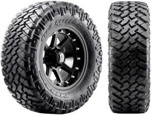 4 New 295 70 17 Nitto Trail Grappler Mt Tires 29570r17 R17 70r Mud
