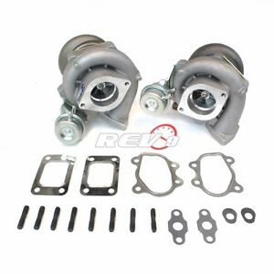 Fits For 90 96 300zx Z32 Upgrade Bolt On Twin Turbo Charger Vg30dett T28 600hp