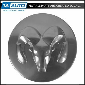 Oem 5290814aa Wheel Hub Center Cap Cover Silver For Dodge New