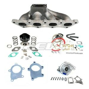 90 94 95 99 Mitsubishi Eclipse Talon Gst Gsx 4g63 T3t4 Turbo Charger Set Up Kit