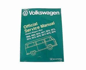 Official Repair Service Book Manual For Volkswagen Transporter Cam