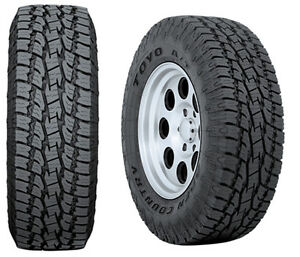 4 New P 285 70 17 Toyo At2 4ply Tires 70r17 R17 70r All Terrain Truck