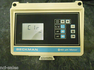 Beckman Ph Meter Model Phi 40 Cat No 123118