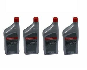 4 Quarts Genuine For Honda sterling Atf Dw 1 Automatic Transmission Oil Fluid