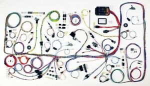 1966 77 Ford Bronco Classic Update Wiring Harness Complete Kit 510317