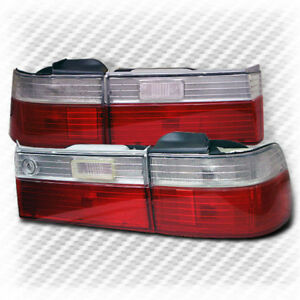 For 1990 1991 Honda Accord 4 Door Altezza Tail Lights Lamp Pair New Taillight