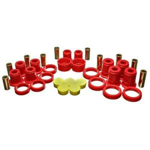 Energy Suspension Control Arm Bushing Kit 3 3194r Red For Chevy Avalanche