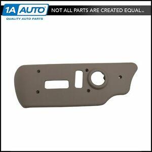 Oem 88941684 Power Seat Switch Bezel Neutral Tan Driver Side For Chevy Gmc Truck