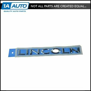 Oem 2l7z7842528ca Make Liftgate Tailgate Nameplate Emblem Chrome For Lincoln New