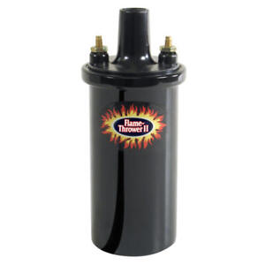 Pertronix Ignition Coil 45011 Flame Thrower Ii Black 45 000v Canister Socket