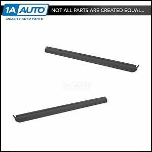 Oem Front Outer Window Belt Weatherstrip Molding Lh Rh Pair For Pickup New