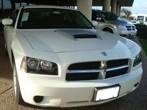 Fits 2006 2010 Dodge Charger Oe Style Hood Scoop With Abs Plastic Grill