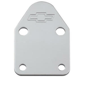 Proform Fuel Pump Block off Plate 141 210 Gm Performance Chrome Steel For Sbc