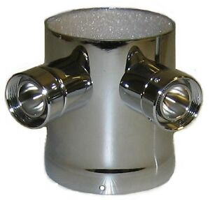 Beer Tower Adapter Converts 1 Faucet Tower To 3 Faucet