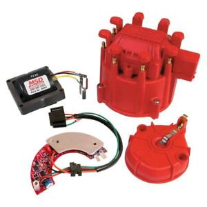 Msd Distributor Cap Rotor Ignition Coil Kit 8501 For Chevy