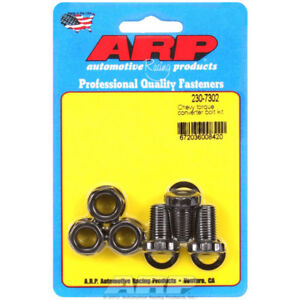 Arp Torque Converter Bolt Set 230 7302 For Chevy Powerglide Th 350 Th 400