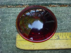 30s 40s 50s 60s Maybe Glass Red Clearance Stop Tail Marker Lamp Lens 300