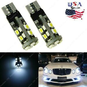 6000k 22 Smd Hid White Error Free 2825 W5w Led Parking Lights For Mercedes Benz
