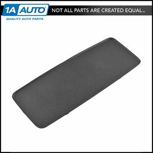 Oem 19328700 Center Console Armrest Pad Insert Black Rubber For Chevy Gmc Truck