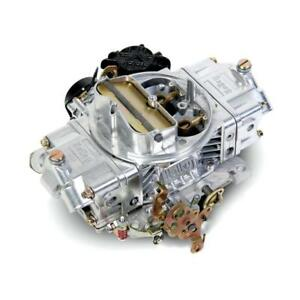 Holley Carburetor 0 83670 Street Avenger 670 Cfm Vacuum Secondary Polished