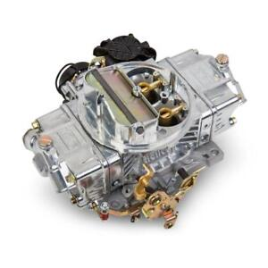 Holley Carburetor 0 80670 Street Avenger 670 Cfm 4bbl Vacuum Secondary Polished