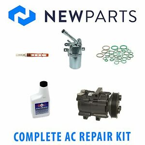 Ford Focus 2003 2 3l Dohc Complete Ac A c Repair Kit With New Compresor