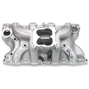 Edelbrock Intake Manifold 7166 Performer Rpm Aluminum For Ford 429 460 Bbf