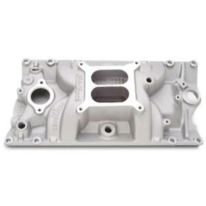 Edelbrock Intake Manifold 7116 Performer Rpm Satin For Chevy 5 0 5 7l Vortec