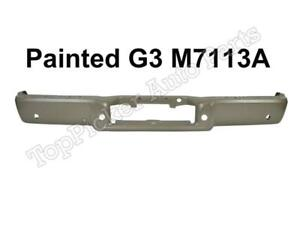 Painted Pueblo Gold G3 m7113a Rear Bumper Bar W hole For 04 08 F150 Styleside