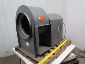 Dayton 2c799 A 18 1 4 Belt Driven Fwd Curved Blower W 2hp 3ph Motor Package