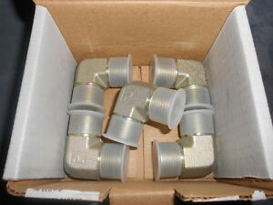 Parker Face Seal Tube Fittings 5 8 Seal lok s 1 14 Un f O ring Qty 5 10 Elo s