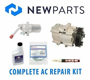 Ford Focus 2 3l L4 2004 Complete A c Repair Kit Oem Halla Compressor With Clutch