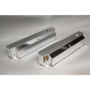 Prw Valve Cover 4030211 Polished Fabricated Aluminum For Ford 302 351w Sbf