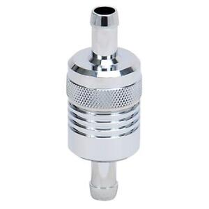 Russell Fuel Filter 645120 40 Microns Chrome Plated Aluminum