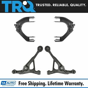 Front Upper Lower Control Arm Pair Set Of 2 For Cirrus Sebring Stratus Breeze