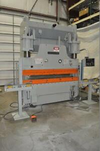 230 Ton Cincinnati Press Brake Model 230as Hydraulic Fabricating Stock 5020