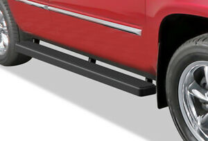 Iboard Running Board 4in Black Fit 00 20 Chevy Tahoe Gmc Yukon Cadillac Escalade