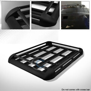 50 Black Hd Aluminum Roof Rack Basket Car Top Cargo Baggage Carrier Storage Ca1