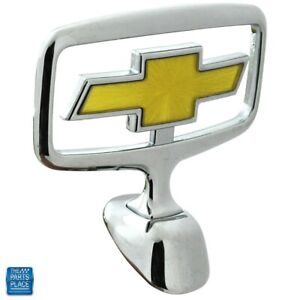 1991 1996 Chevrolet Impala Caprice New Hood Ornament Emblem Gm 10119817 Each