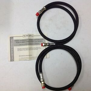 Kubota Hydraulic Hose Extension For Power Angle Kit Part v4297