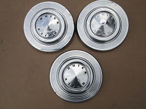 1961 Buick Dog Dish Wheel Covers Hub Caps