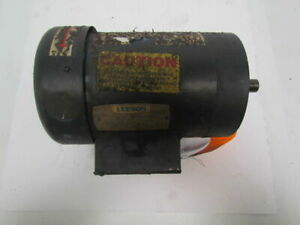 Leeson Electric C145t34fc1e 3450rpm 2hp C Face