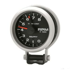 Auto Meter Tachometer Gauge 3780 Sport comp 0 To 8000 Rpm 3 3 4 Electrical