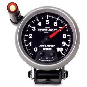 Auto Meter Tachometer Gauge 3690 Sport comp Ii 0 To 10000 Rpm 3 3 4 Electrical