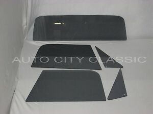 Glass Vent Door Small Back Grey Chevy Gmc Pickup 1968 1969 1970 1971 1972