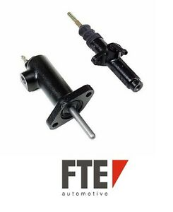 For Porsche 924 944 Clutch Master Slave Cylinder Set Fte Oem New