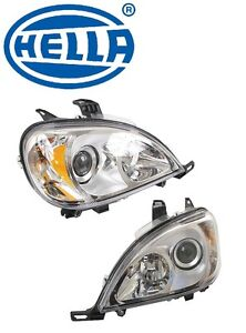 For Mercedes W163 Ml320 Headlight Assembly Set Of Left Right Halogen Oem