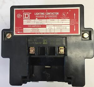Square D 100amp Lighting Contactor
