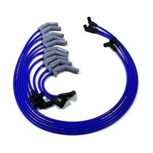 Taylor Spark Plug Wire Set 84673 Thundervolt 8 2mm Blue Oe For Dodge Ram